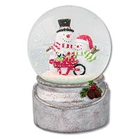 Winter Wonderland Musical Snow Globe