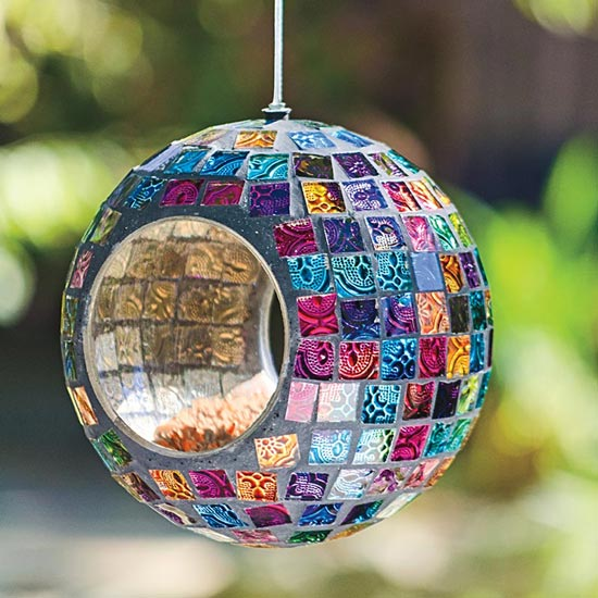 Mosaic Bird Feeder
